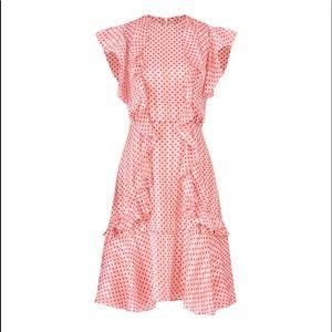 Flirty Retro-Inspired Polka Dot Party Dress